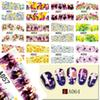 Art Stickers Decals 48 designs Mixed 2017 New Nail Sticker Water Transfer Flowers DIY Tips Beauty Manicure Nail Art Decorations