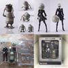Anime Game NieR Automata YoRHa No. 2 Type B 2B PVC Action Figure Collection Model Toy Doll Gift