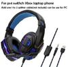 P4 headset_blue