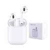 i9s tws wireless bluetooth 5.0 headphones ture stereo Earphones earbuds support pop up window with silicone protector case Anti Lost Rope