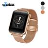 GT08 Plus Metal Strap Smart Watch Z60 Bluetooth Wrist Smartwatch Support Sim TF Card Android&IOS Watch pk Q9
