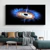 Modern Deep Space Black Hole Canvas Paintings Print Printed Universe Landscape Posters Wall Art Pictures Living Room Home Decor