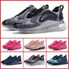 2019 New Designer Mens Women Running Shoes Sea Forest DESERT GOLD CARBON GREY Sunset Metallic Platinum Sports Sneakers Outdoor Shoes