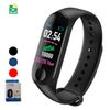 Smart Watches M3 Plus IP68 waterproof Heart Rate Watch Smart Wristband Sports Watches Smart Band Waterproof Smartwatch support Android IOS