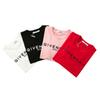 Brand Women's T-shirts Summer Tops Shirt for Women Fashion Short Sleeve T Shirts Luxury Tees Brand Red Pink Black White Shirt S-2XL