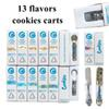 Cookies High Flyers Cartridges Vape Cartridge Packaging 1ml Ceramic Thick Oil Dab Pen Wax Vaporizer Empty Carts E Cigarette 510 Battery