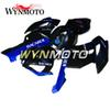 Motorcycle Hull Blue Black Bacardi Injection Molding Panel Motorcycle Fairing Kit For Honda CBR1000RR 2004 2005 04 05 Bike Covers Panels New