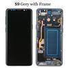 S9 Gri çerçevesi