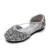 2019 new kids designer shoes sequin girls shoes princess girls sandals Summer Kids Sandals kids shoe Girl Dress Shoes Girls Footwear A3171