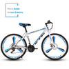 white blue 21-speed