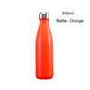 Матовый - оранжевый
