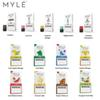 Authentic Disposable Myle Pod Cartridges 0.9ml Salt Nic Replacement Pods for MYLE Starter Kits 4pcs pack 5 VGOD Flavors