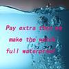 Sadece su geçirmez