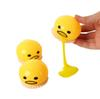 Squishy Toy Egg Squeeze Vomitive Egg Yolk Anti Stress Reliever Fun Gift Yellow Lazy Egg Joke Toy Ball Funny Toys