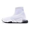36-45 clear sole white black