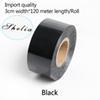 negro-3 centímetros de largura * 120 metros