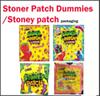Newest Strawberry STONER PATCH DUMMIES Stoney Patch packaging Gummies Smell Proof Bags Stoney Patch Kids runtz Kids Gummy Mylar bags