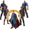 Avengers Infinity War SHFiguarts Iron Man MK50 SpiderMan Thanos Doctor Strange Star Load Captain America Action Figure Toy Gift