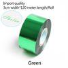verde-3 centímetros de largura * 120 metros