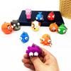 New Arrives At Squeeze Toys Kawaii Winking Blast Eye Doll Keychain Pendant Stress Relief Toy Children Gift Random Style ship by DHL