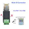 A para Pin7 B para pin8