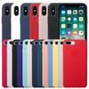 High-quality Original With LOGO Silicone Case For iPhone x xs xr 8 7 6 6s Plus Phone Silicon Cover For iphone xs max case With Retail Box