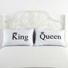 body cover Hot 2pcs pair Bedding Outlet Queen King White case Royal Series Soft Pillow Case 48*74cm Hotel Bedding Body Pillow Cover