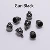 7 * 10mm, 50Pcs / Lot Gunblack