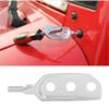 Silver Car Tools Ceiling Tool For Jeep Wrangler JK From 2007 To 2017 Auto Exterior Accessories