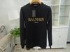 Balmain Mens Designer Hoodies Pink White Black Red Men Women Designer Balmain Long Sleeve Sweatshirts Size S-XL