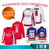 Clearance Washington Capitals 8 Alex Ovechkin 91 Tavares jerseys New York Islanders Hockey Jersey TOP quality Promotion