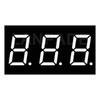 LED 7-Segment Display 0.40inch Three Digit White CC DHL Free Shipping
