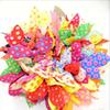 1000 Pieces lot Mix New Fashion Hair Band Polka Dot Hair Rope Accessories Bow Tie Hair Accessory for Women Stripe Rabbit Ears