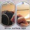 Étiquettes de surface miroir