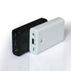 Black 18650 Mobile Power Box Parallel Battery Box Power Bank 3 Section Mobile Phone Power Case