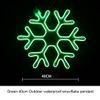 الثلوج 40CM الأخضر
