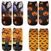 Hot sale Halloween 3D printing adult socks children socks cartoon kids designer socks halloween costumes kids Casual sock A8189