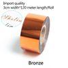 bronze-3 centímetros de largura * 120 metros
