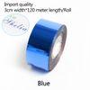 azul-3 centímetros de largura * 120 metros