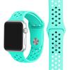38mm 42mm Watchband With Hole Breathable Silicone Watch Strap For Apple Watch iWatch 1 2 3 Band