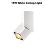 15 W Branco Luz de teto