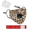 1 máscara Leopard + 2 Filtro
