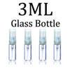 3 ml Glasflasche Cap T