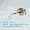 weiß Gelbgold