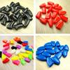 10sets lot Soft Dog Grooming Finger Caps Pet Dog Cat Nail Caps Claw Control Protecting Wholesale