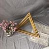 مل 3pcs مثلث الذهب