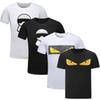 Novelty Fashion Casual Luxury Designer T Shirts For Men Tee Shirts Letter Embroidery T Shirt Mens Tees Short Sleeved tshirts