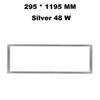 295 * 1195 mm gümüş 48 W