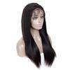 AiChen Long Full Lace Human Hair Wigs For Women Straight Brazilian Hair Wig Vigin Hair 150% Density Wig Free Shipping Wholesale 150% Density
