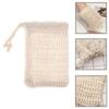 Soap Blister Mesh Double-layer Soap Net Foaming Net Easy Bubble Mesh Bag Soap Sack Saver Pouch Drawstring Holder